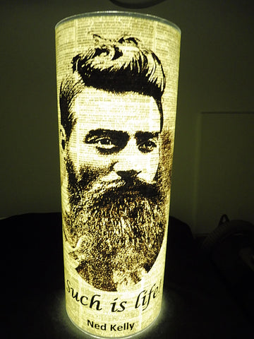 Ned Kelly Paper Lantern No.621, famous