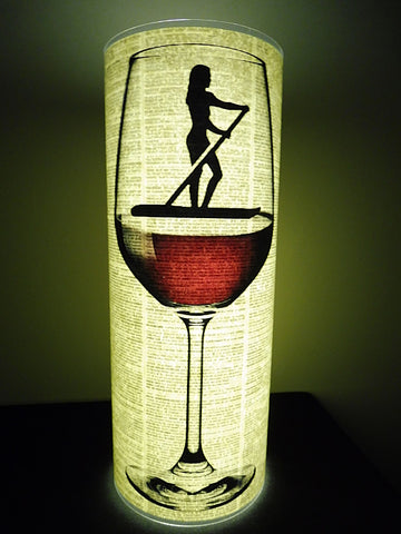 Paddleboarder Female Paper Lantern No.733