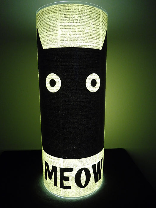 Black Cat #3 Paper Lantern No.355