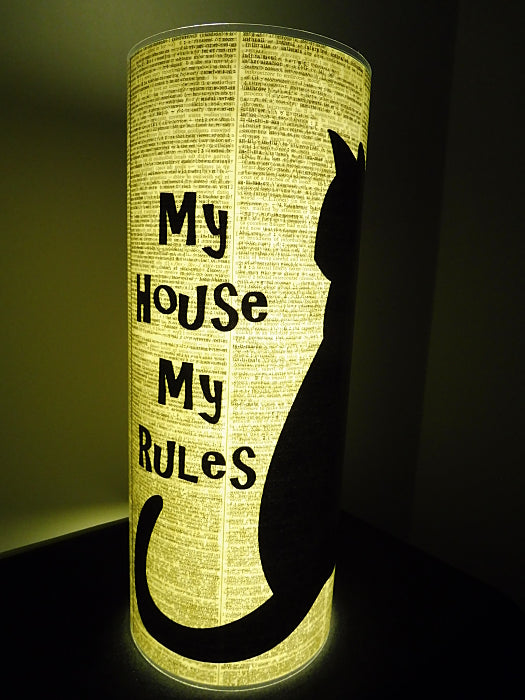 Black Cat #2 Paper Lantern No.672