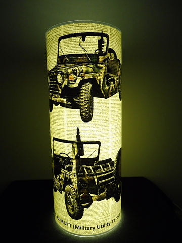 Army Jeep Paper Lantern No.155