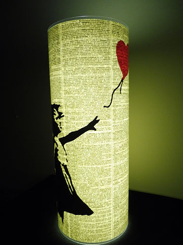 Banksy Girl with Balloon Paper Lantern No.329, miscellaneous