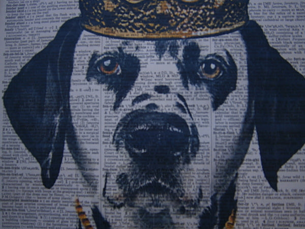 Dalmatian Dog #2 Wall Print No.63