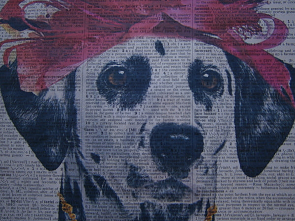 Dalmatian Dog #3 Wall Print No.64