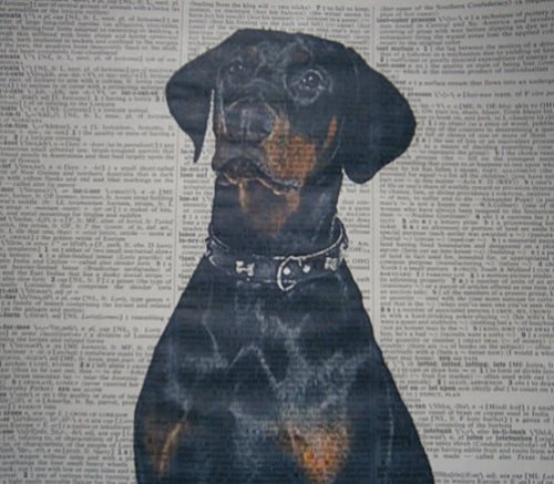 Doberman Dog Print No.117