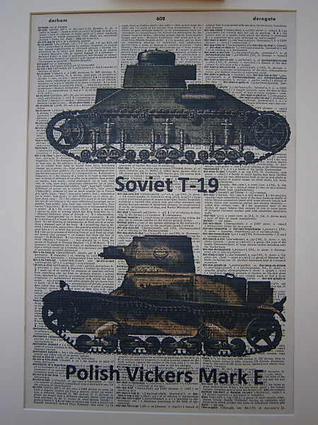 Army Tanks Print No.158