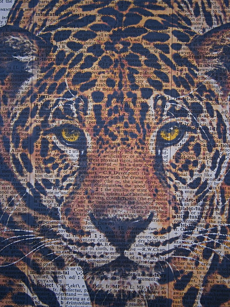 Jaguar Print No.177, animals