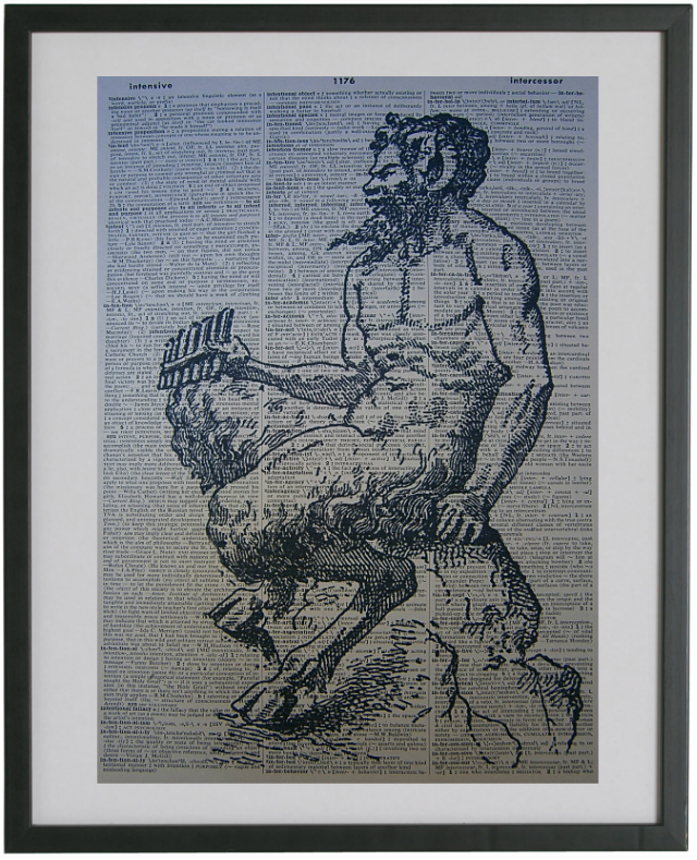 Pan Faun Print No.61, miscellaneous