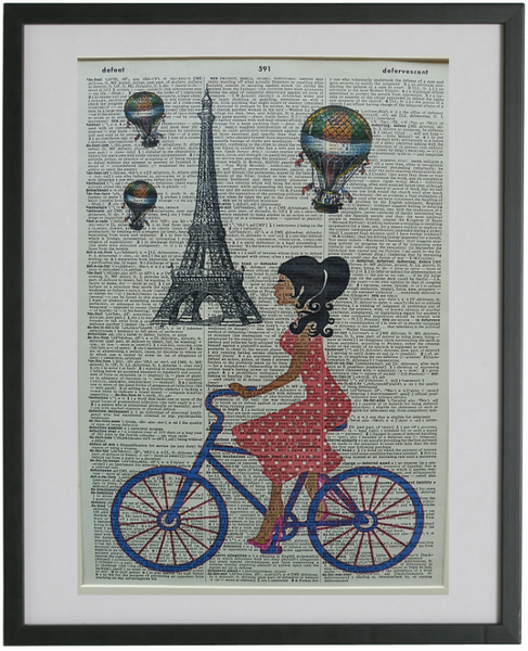 Paris Eiffel Tower #2 Wall Print No.139