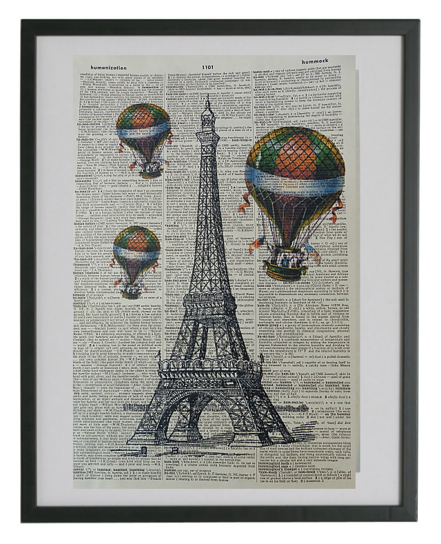 Paris City Print No.199, miscellaneous