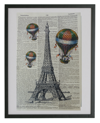 Paris Eiffel Tower #1 Wall Print No.199