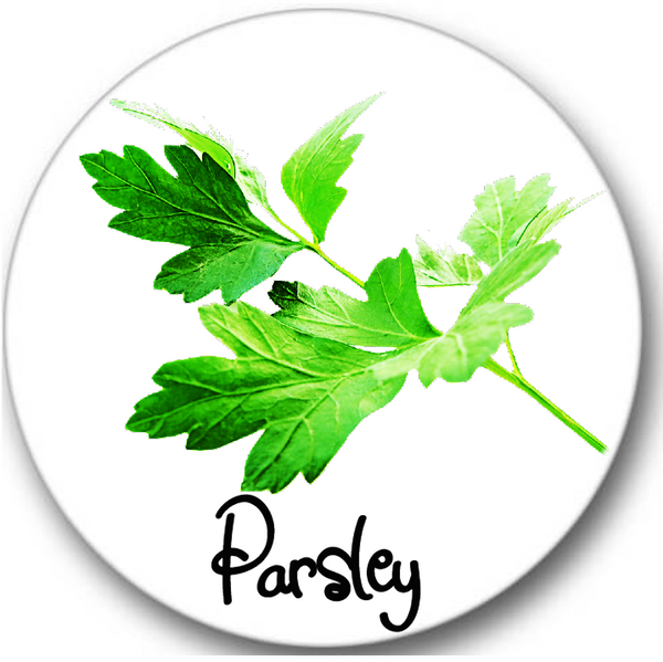 Parsley Leaves Sticker Seals No.973, botanical