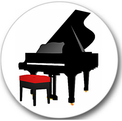 Piano #2 Sticker Seals No.886