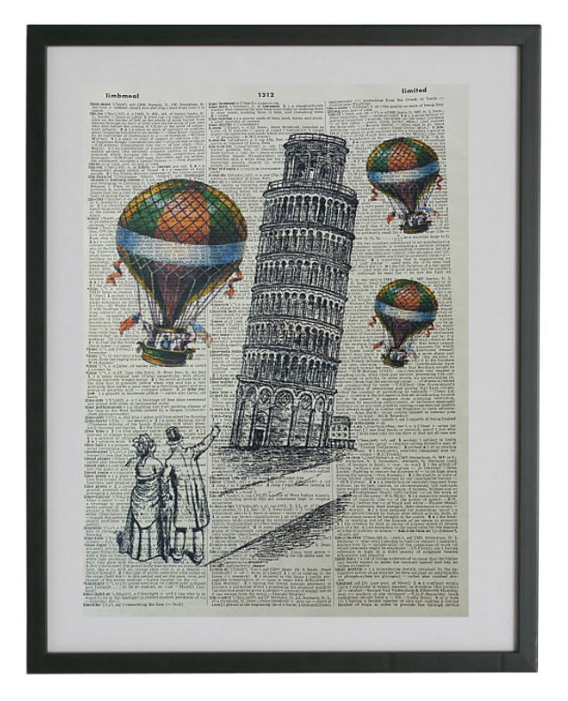 Pisa Tower Print No.201, miscellaneous