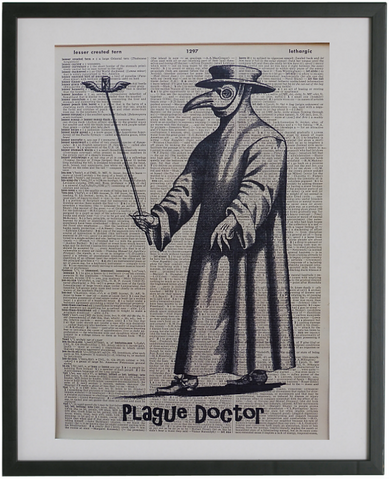 Plague Doctor Gothic Print No.564
