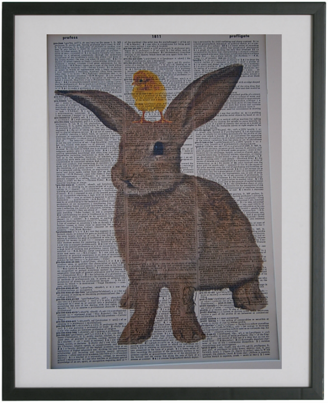 Rabbit Print No.36, animals