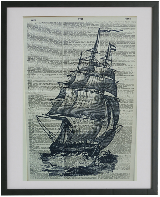 Sailing Ship Print No.571