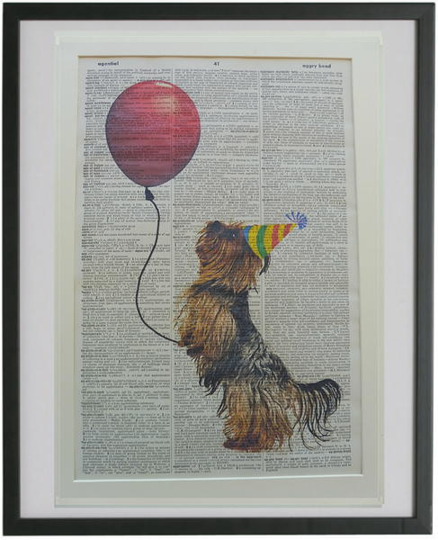 Silky Terrier Dog Print No.1
