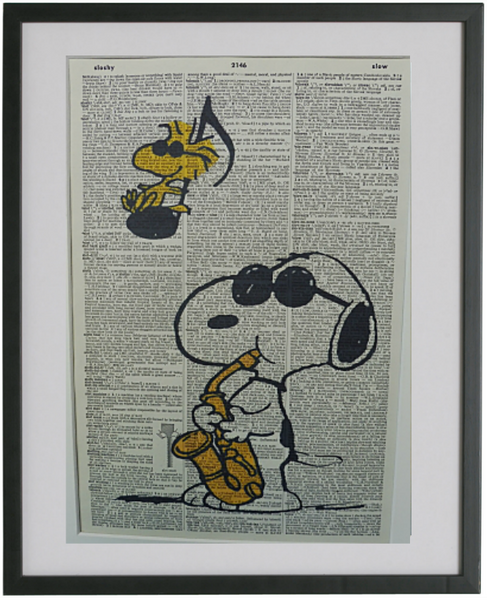 Snoopy Print No.351, animation