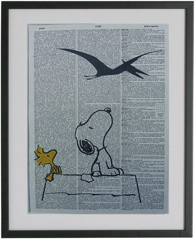 Snoopy Print No.191, animation
