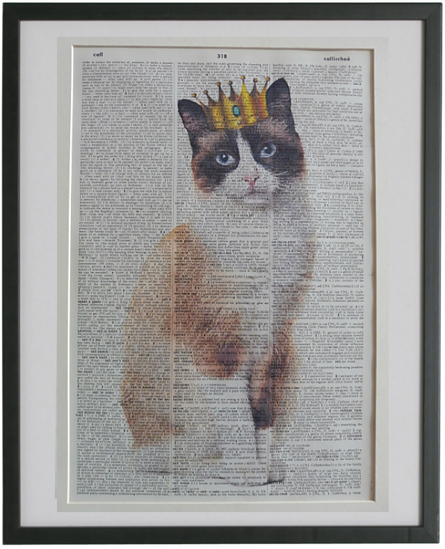 Snowshoe Cat Wall Art No.916