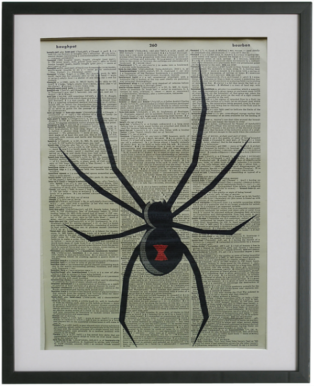 Spider Wall Print No.290