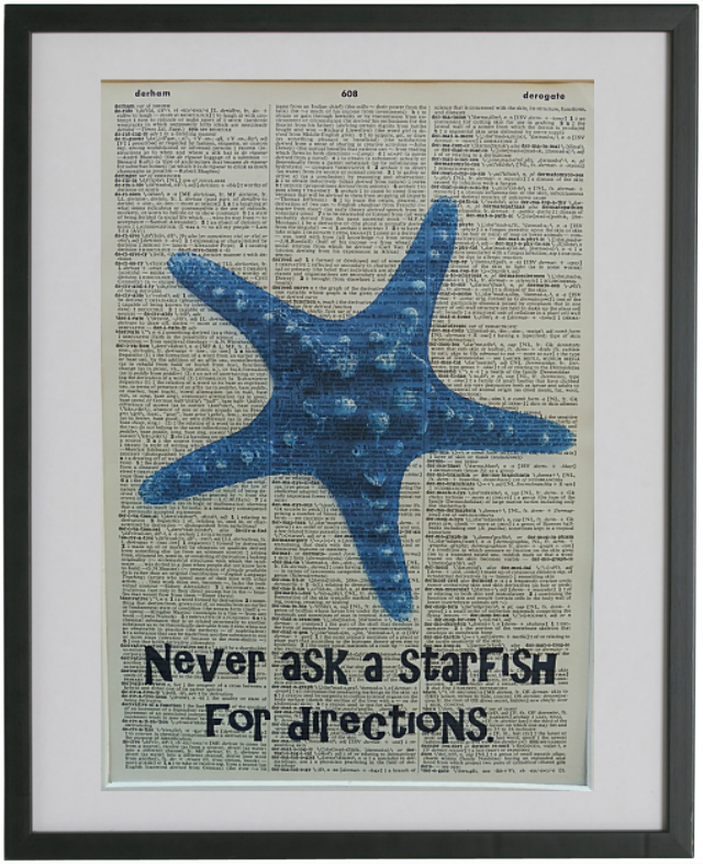 Starfish Print No.476