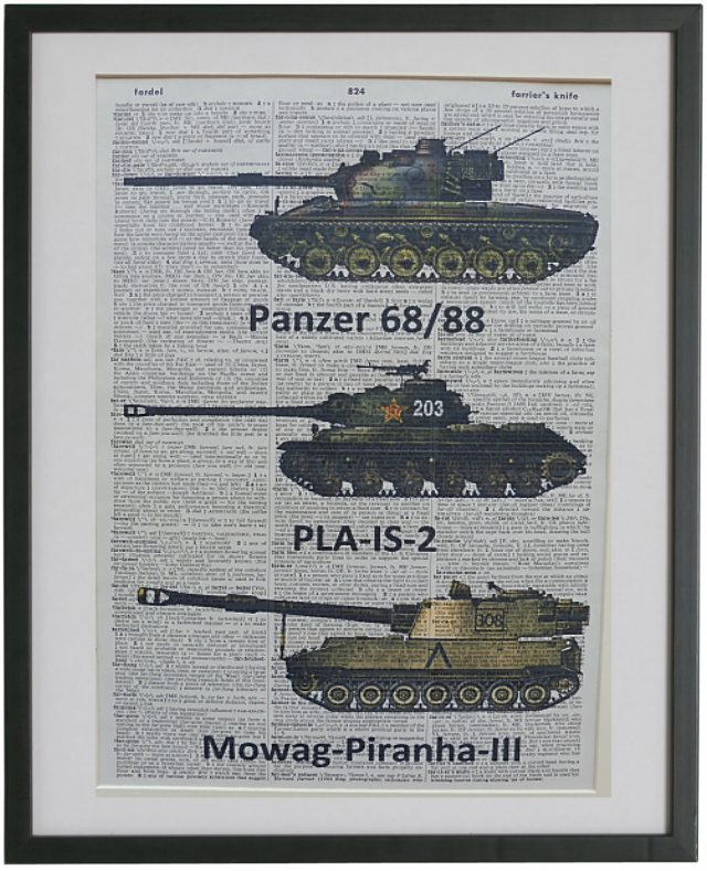 Army Tanks Print No.276