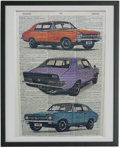 Holden Torana SL Car Wall Art No.150