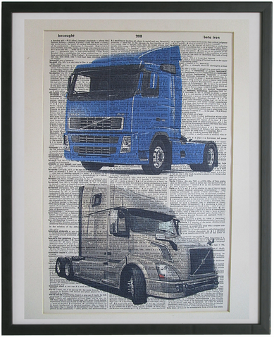 Volvo Trucks Wall Art No.982