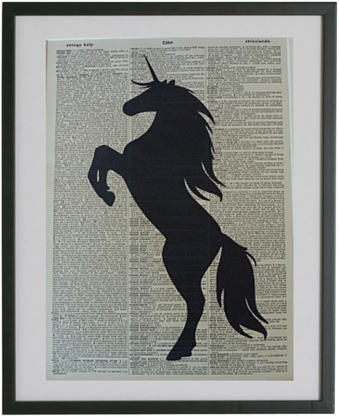 Unicorn #3 Wall Art No.37, animal