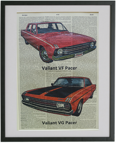 Valiant Pacer Car Print No.614