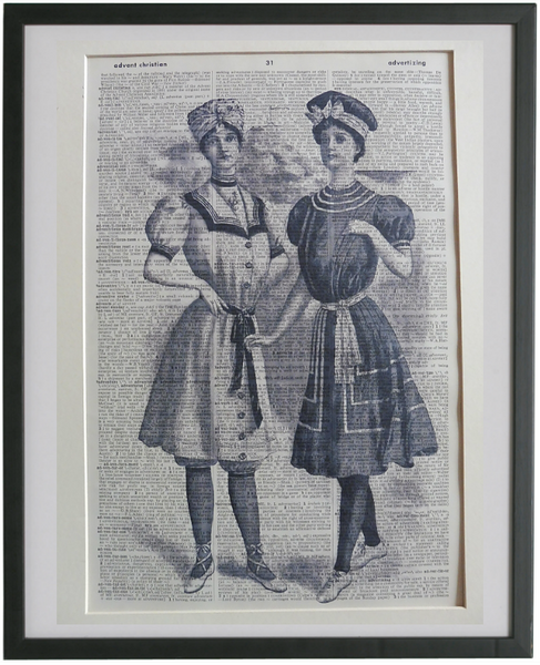 Victorian Women Bathers Print No.927