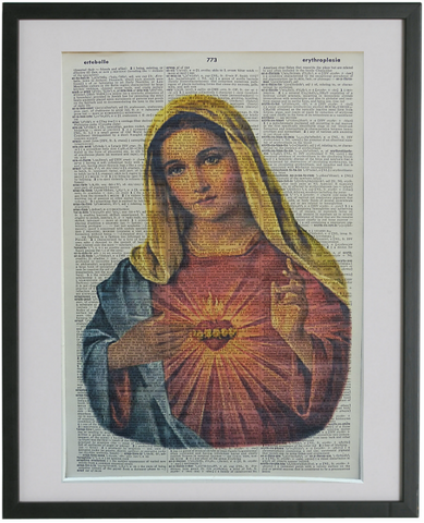 Virgin Mary Wall Art No.693