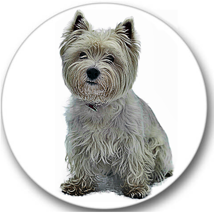 West Highland Terrier Dog Sticker Seals No.690