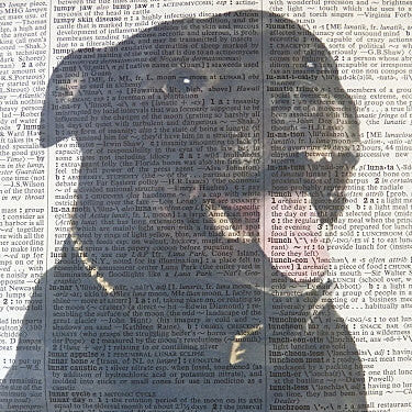 Staffordshire Bull Terrier Dog #1 Print No.141