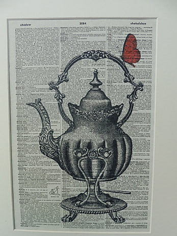 Tea Pot Print, miscellaneous