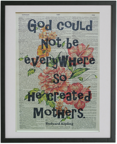 Mother Quote Print No.371, inspirational quote prints
