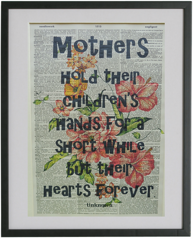 Mother Quote Print No.372, inspirational quote prints