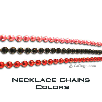 Necklace Chains Colors