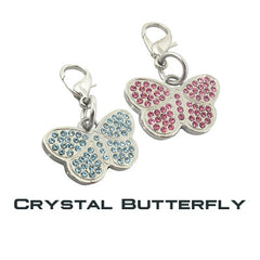 GoDazzler Crystal Butterfly Charms