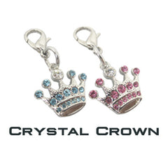 GoDazzler Crystal Crown Charms