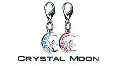 GoDazzler Crystal Moon Charms