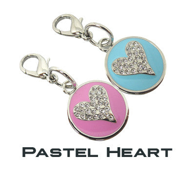 GoDazzler Pastel Heart Charms