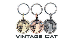 GoDazzler Vintage Cat Charms