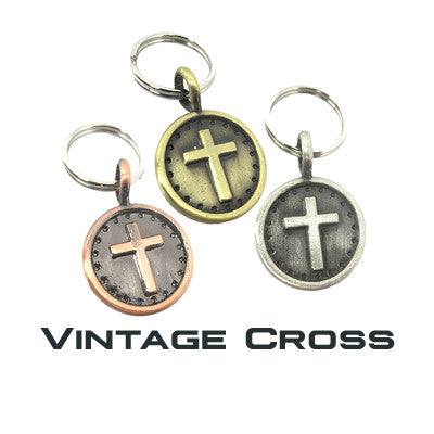 GoDazzler Vintage Cross Charms