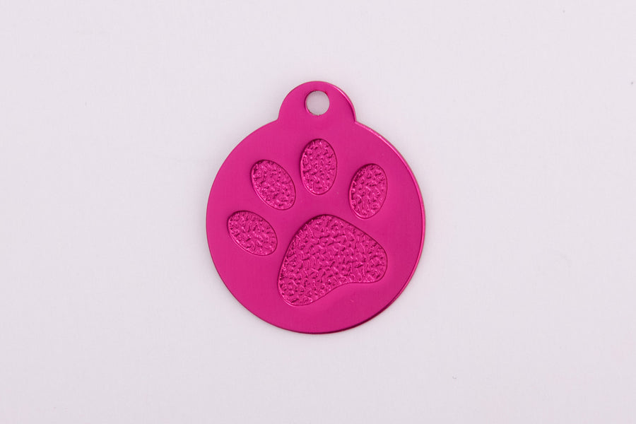 Anodized Paw Tags