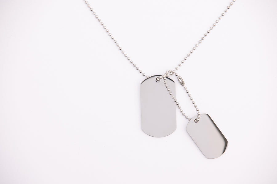 Stainless Steel Necklace Chain Set