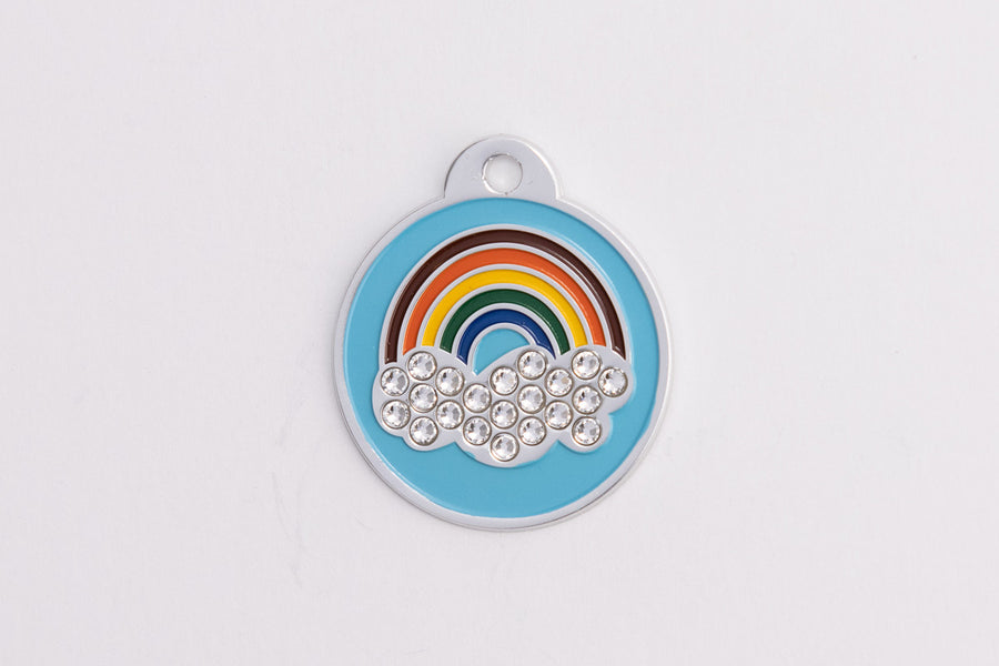 GS109 Swarovski Rainbow Tag