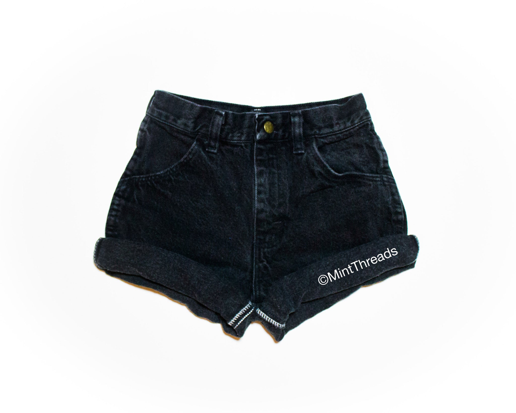 "ALL SIZES Vintage ""ARTEMIS"" High Waisted Denim Shorts"